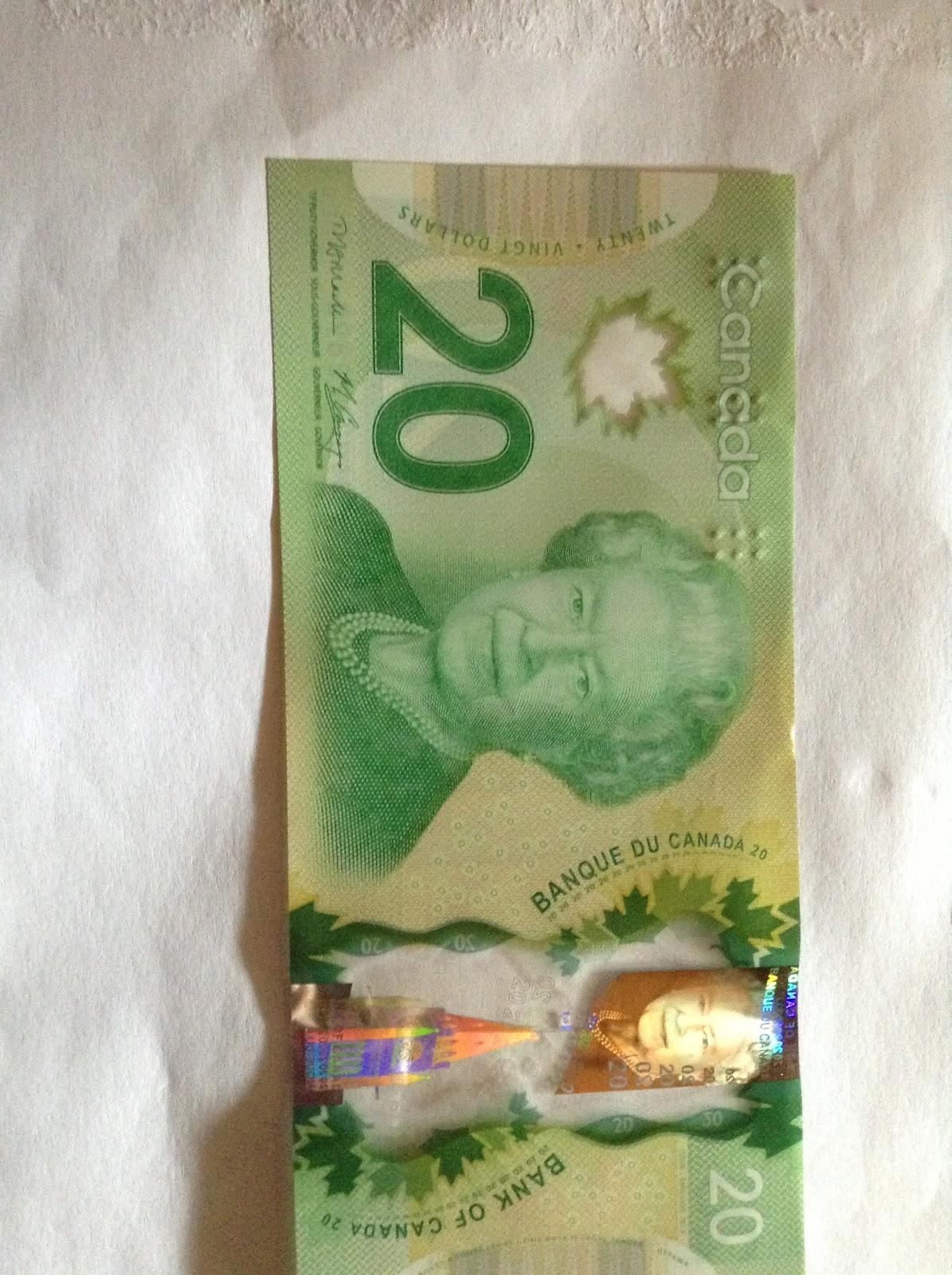 kanadische dollar gültigkeit